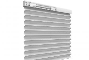 Coulisse pleated blind lift