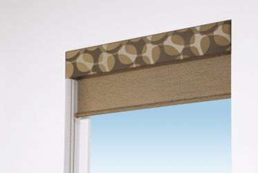 Designer Screen Shades Complementary Valance